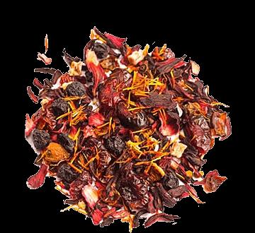 Фруктовый чай Cherry Punch | Вишневый пунш
