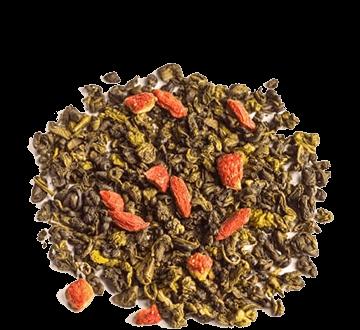 Green Tea & Goji | Зеленый чай с ягодами годжи