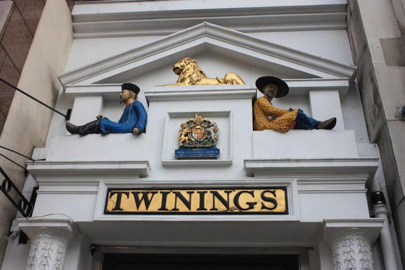 Самый-старый магазин чая в Лондоне