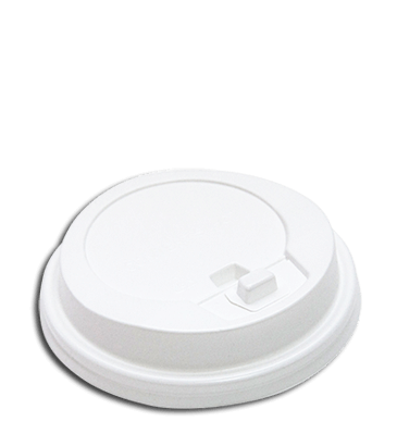 Одноразовая посуда для кофе - Крышка для 2-х слойных стаканов