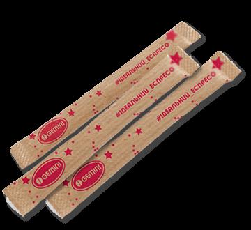 Стіки для цукру і дерев'яні мішалки - Цукор в стіках