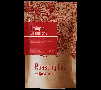 Кофе в зернах Ethiopia Sidamo gr.2