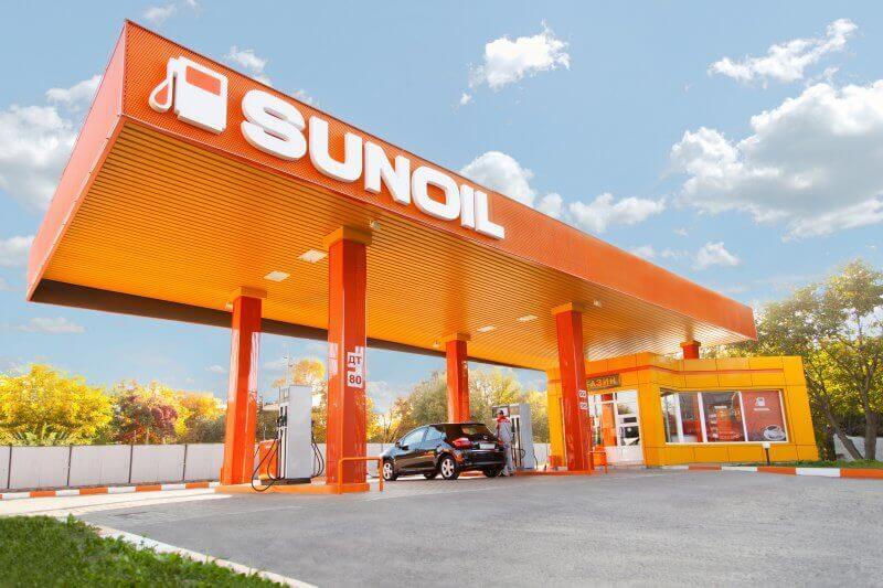 Сеть заправок SUNOIL