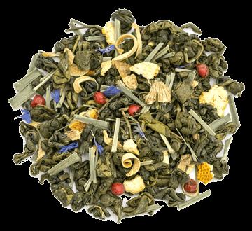Чай - Ginger Green Tea  | Зеленый чай с имбирем