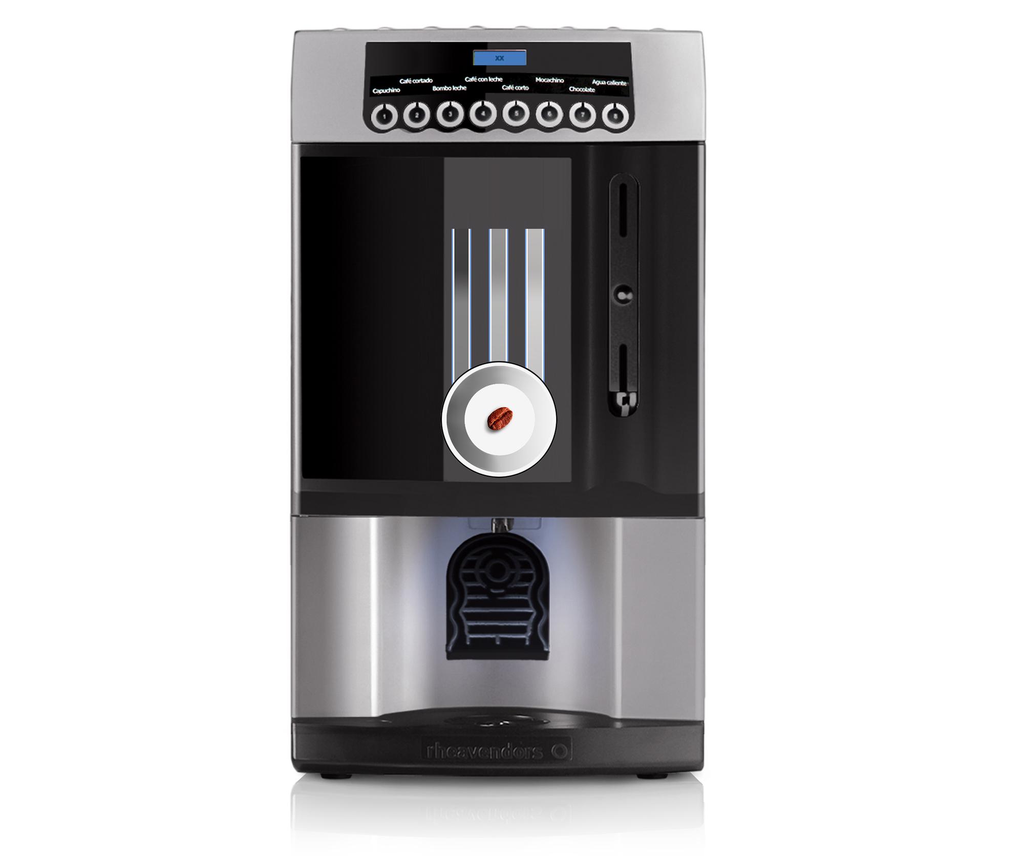 Автоматические и фильтрационные кофемашины - Rheavendors XX OC
