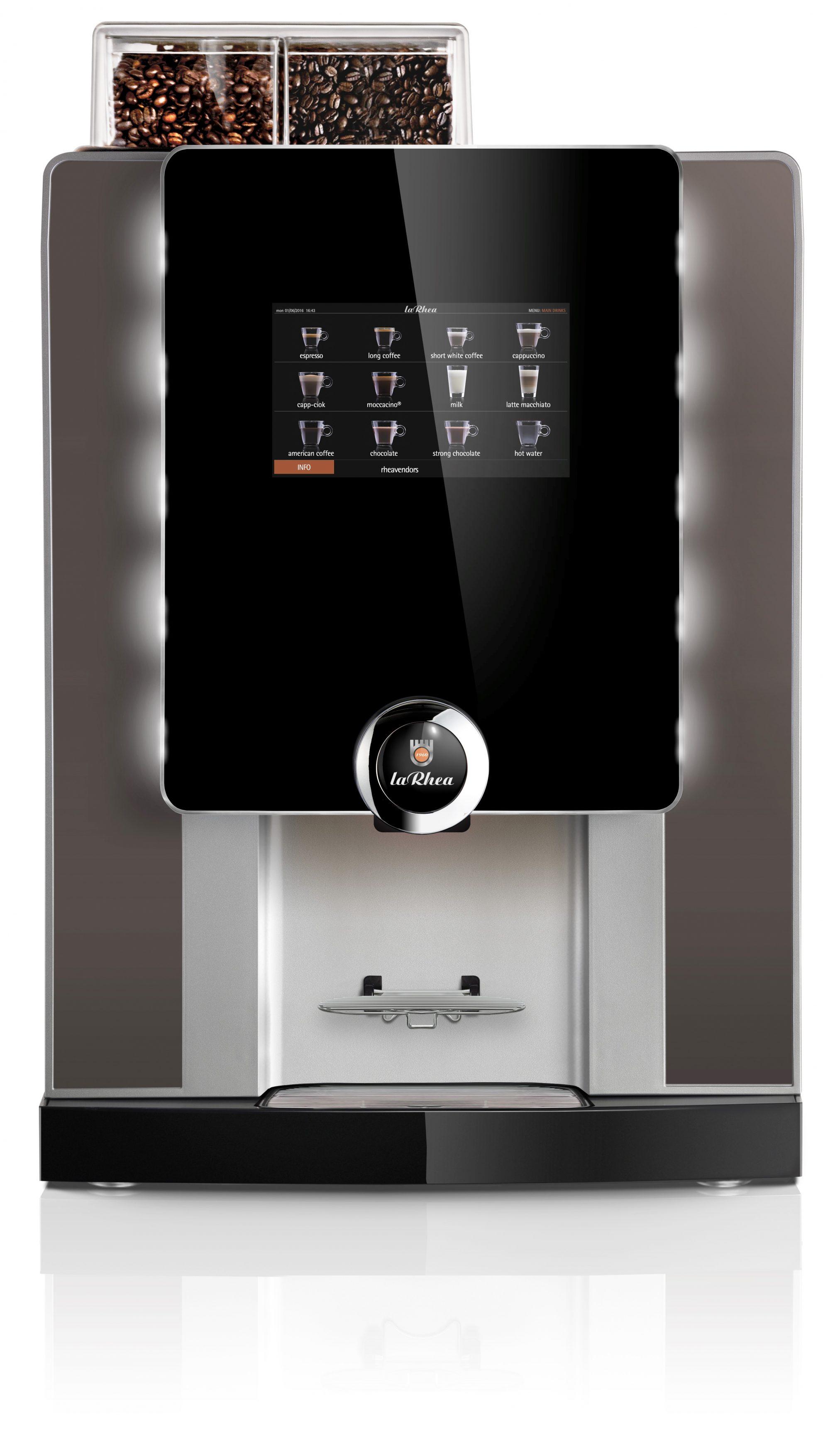 Автоматические и фильтрационные кофемашины - Rheavendors laRhea V+ Grande Premium